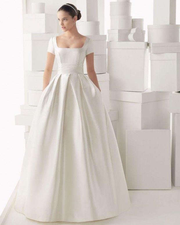 Fotos de vestidos de novia con manga corta