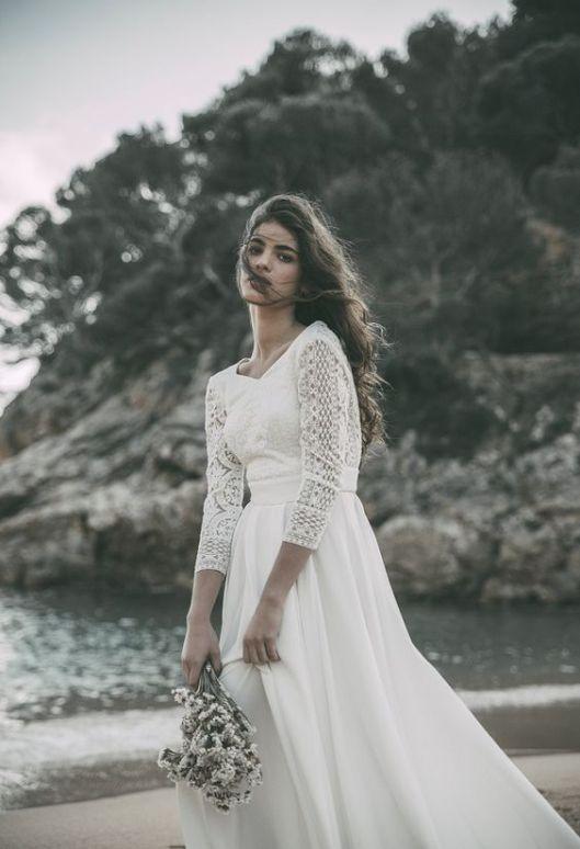 vestidos de novia de manga larga   innovias