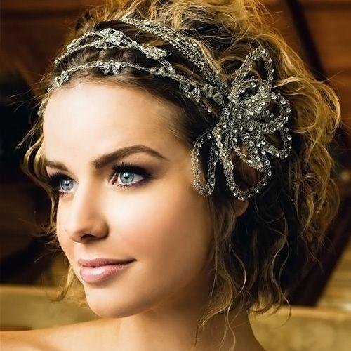 Peinados de novia retro