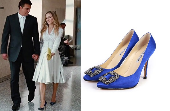 tendencias zapatos bodas 2018: zapatos de color para novias,