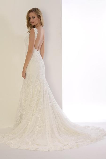 vestidos de novia espalda descubierta | innovias