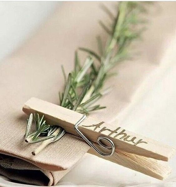 Servilleteros originales para las mesas de tu boda by for Mesas de boda originales