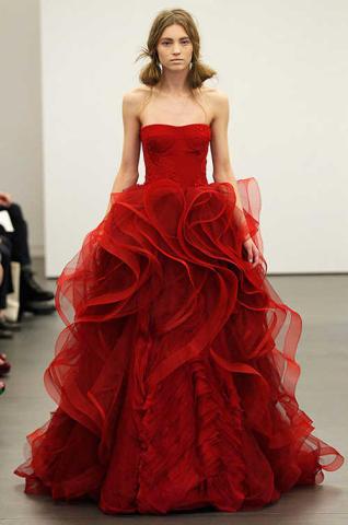 Vestido de novia rojo significado unesco