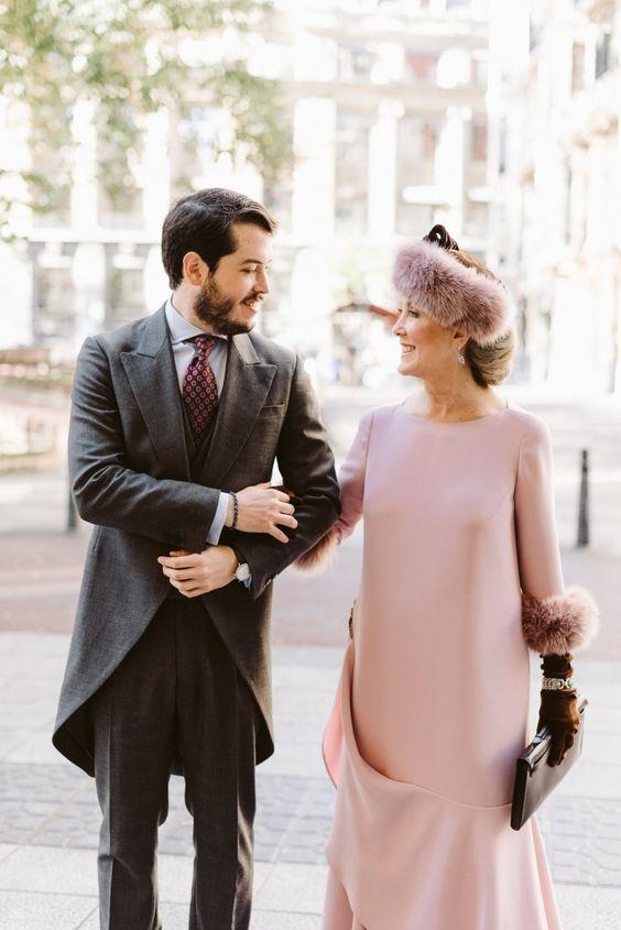 Vestidos de madrina de boda rosa clara precios