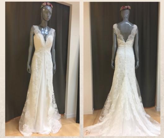 vestidos de novia con encaje   innovias