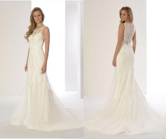 vestidos de novia con transparencias | innovias