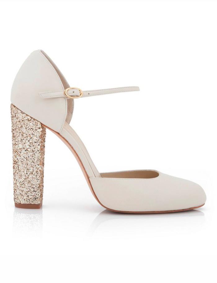 consejo innovias: elige el tacón de tu zapato de novia segun el