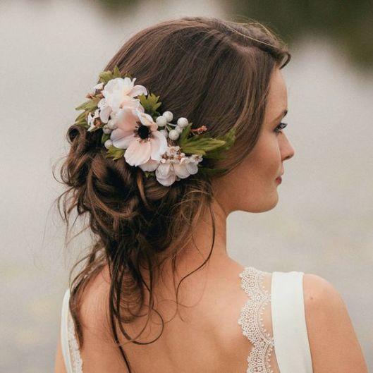 Peinados Con Corona De Flores Innovias