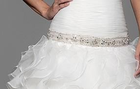 Cinturilla de novia pedrería 7912 de Innovias para vestidos de novia