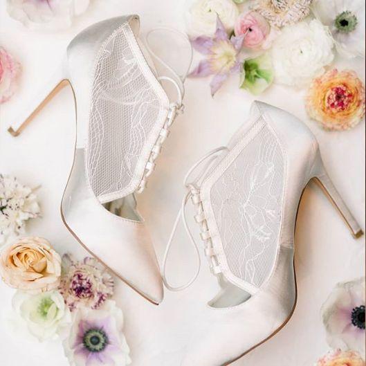 Zapatos de novia de Menbur