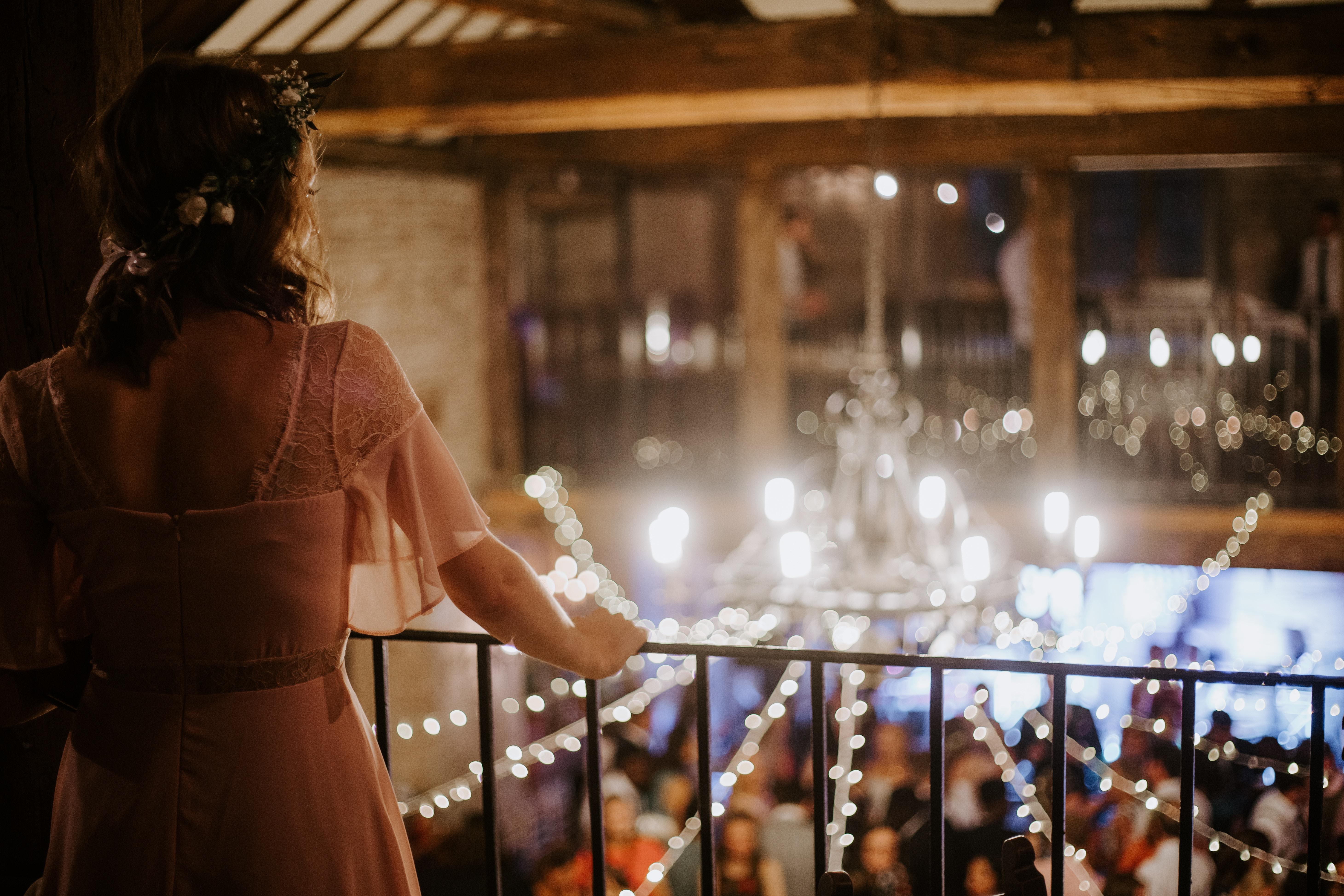 Novia disfrutando de la fiesta de su boda
