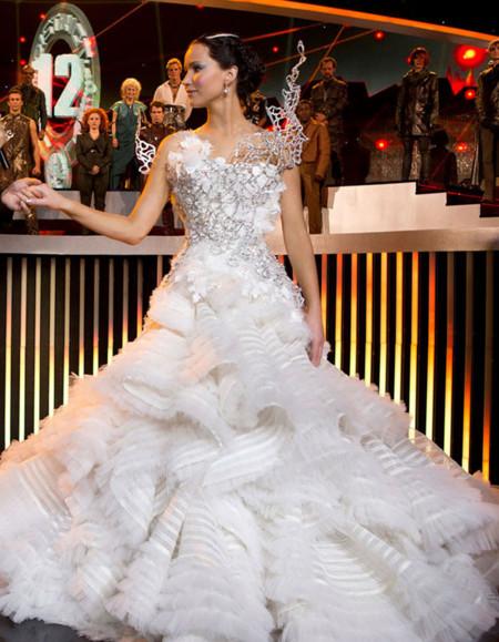 Jennifer Lawrence en la saga de 'Los Juegos del Hambre'