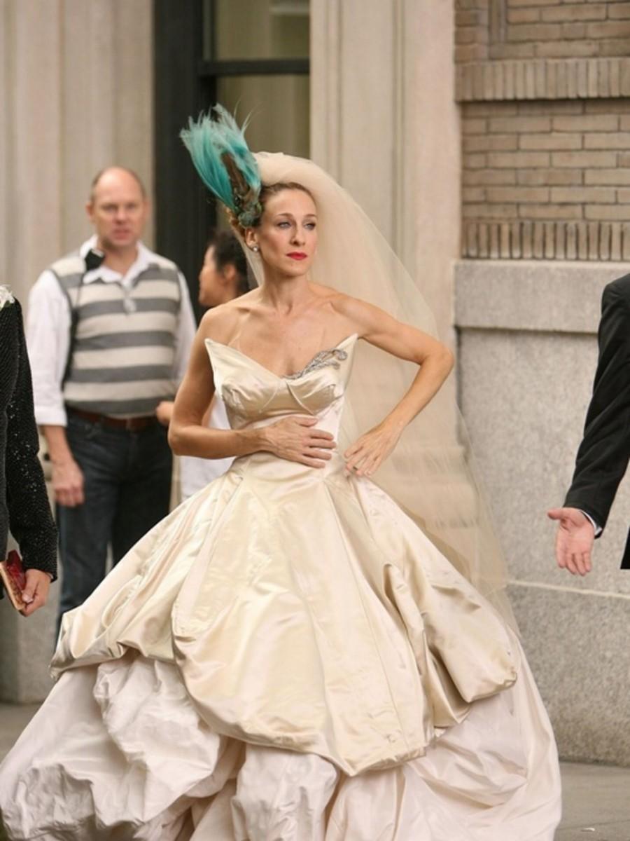 Sarah Jessica Parker en 'Sexo en Nueva York'