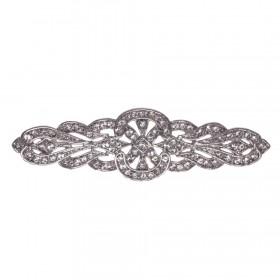 Broche ideal para vestidos de novia y ceremonia modelo 2504 de Innovias