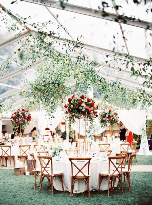 Deco de boda. Foto: Jen Dillender Photography