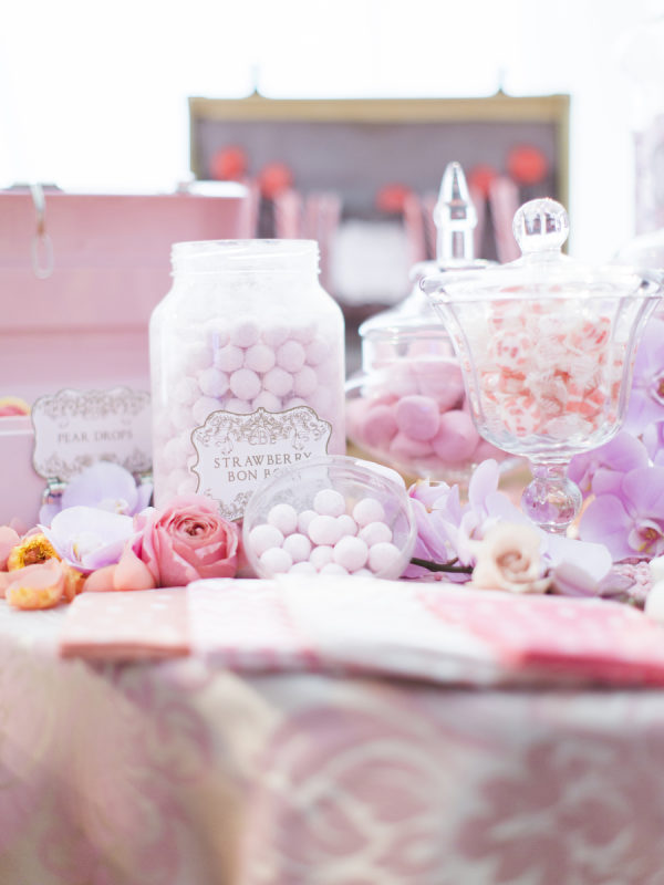 Candy bar de boda. Foto: Polly Alexandre Photography