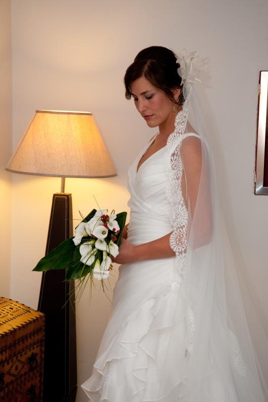 Velo de novia modelo 168 de Innovias