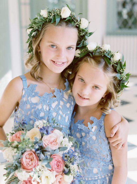 Damitas en la boda. Foto: Sarah Kate, Photographer
