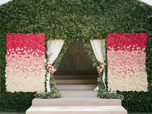 Deco de la ceremonia. Foto: Davy Whitener Photography