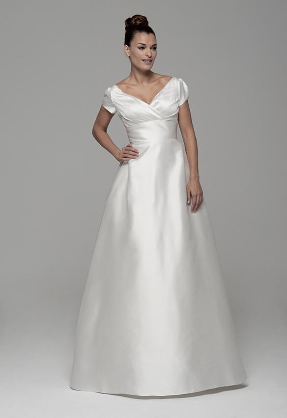 Vestido de novia en venta directa de fábrica modelo Aline de Innovias
