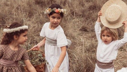 Niños después de la boda. Foto: Bonmikids