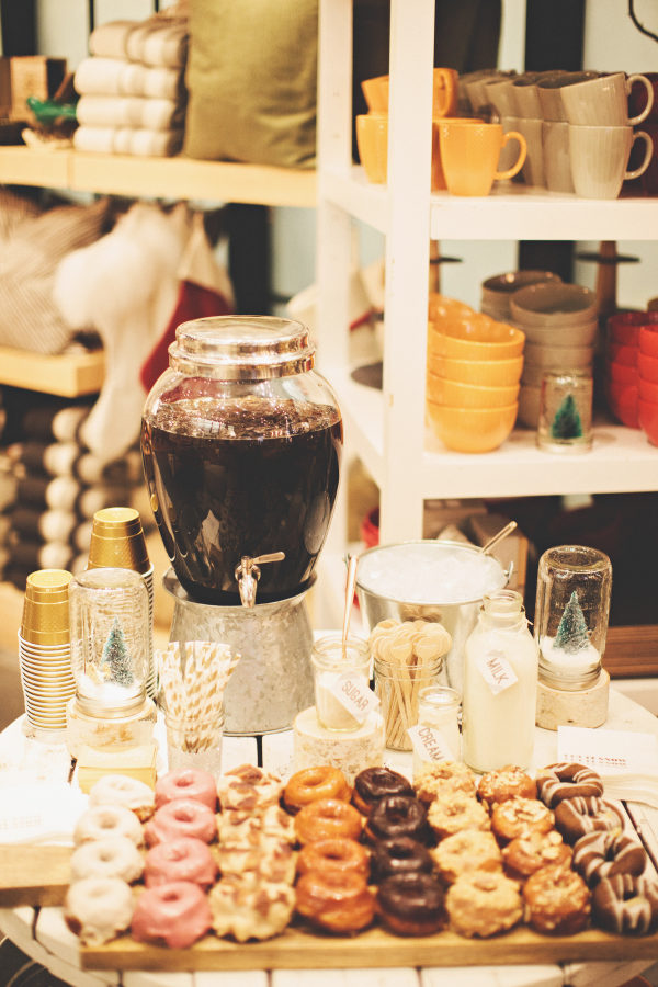 Donuts en un candy bar. Foto: First Mate Photography Co.