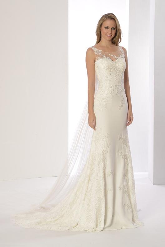 Vestido de novia modelo Paula Alta Costura - low cost en venta a precios directos de fábrica de Innovias