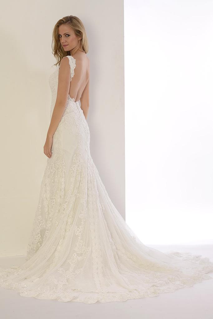 Vestido de novia Peonía de Innovias