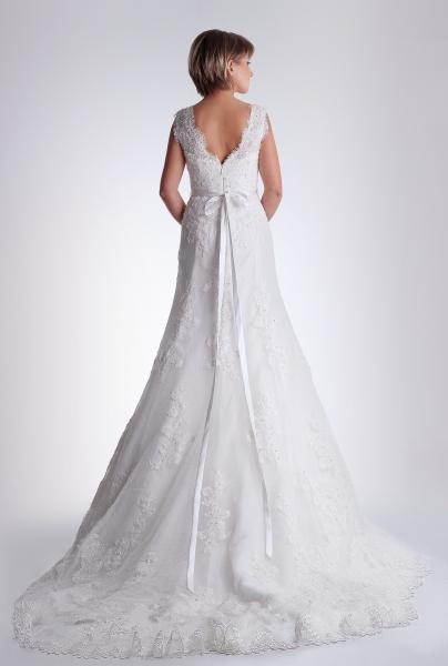 Vestido de novia Citlalli de Innovias
