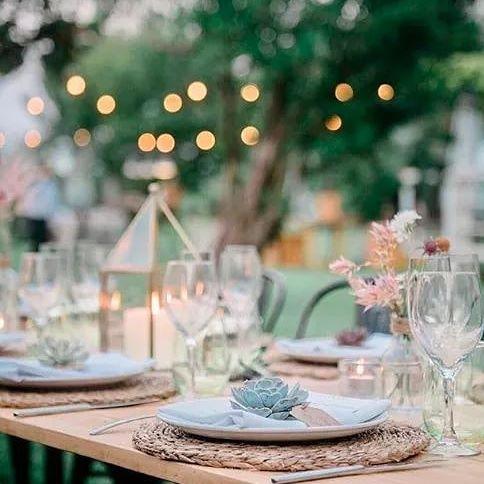 Banquete de boda. Foto: Visual Foto