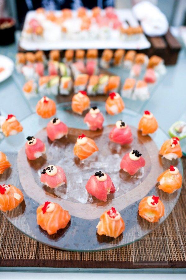 Puesto de sushi. Foto: Christian Oth Studio