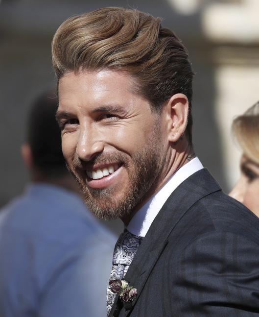 Sergio Ramos en su boda. Foto: Gtres