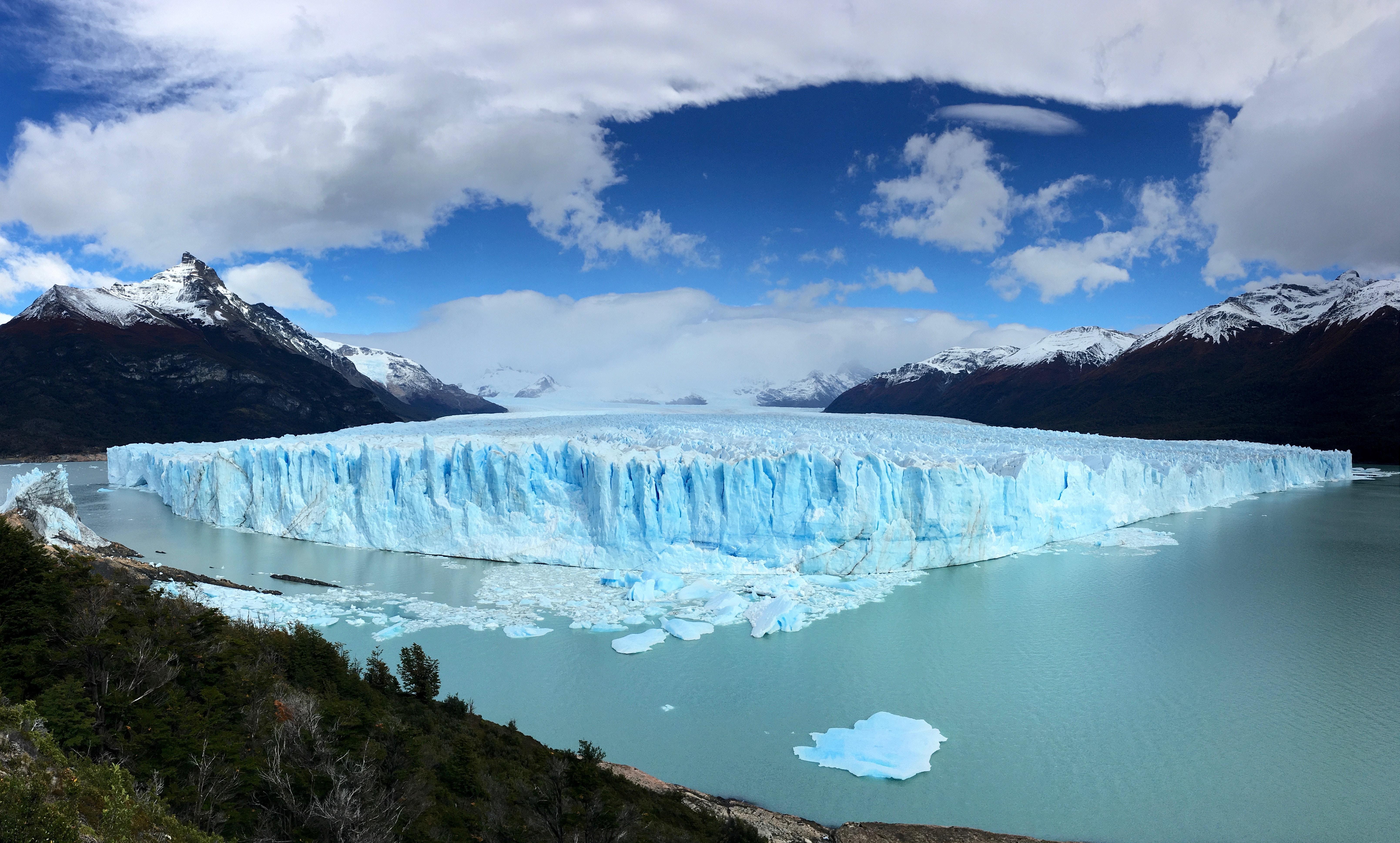 Perito Moreno en Argentina. Foto: Rachel Jarboe