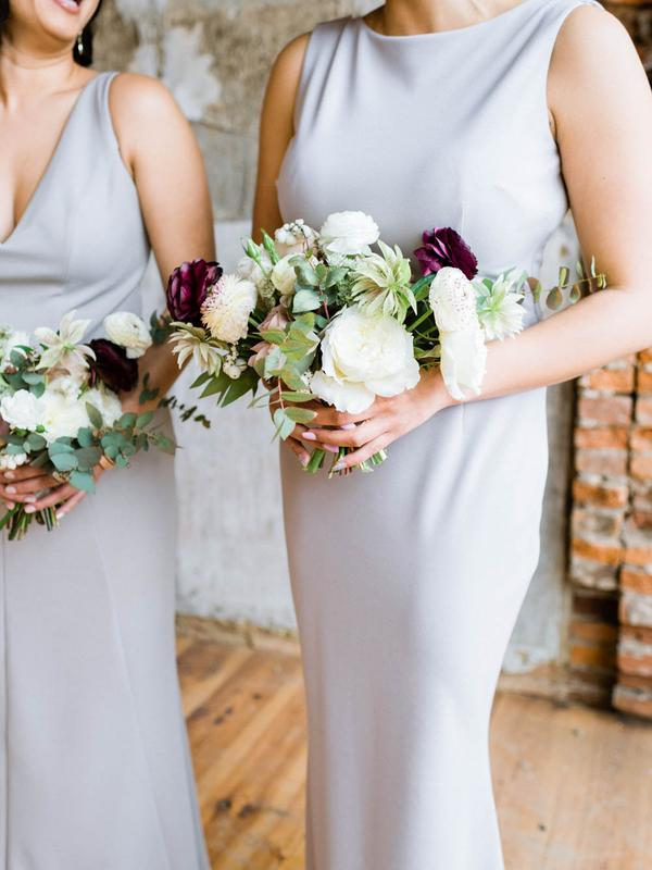 Damas de honor. Foto: Renee Hollingshead Photography