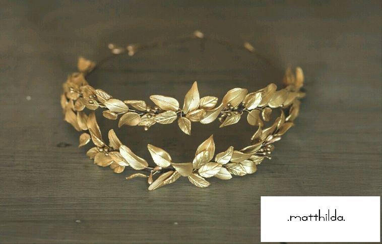 Corona de hojas de Innovias