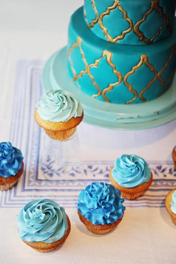 Tarta y dulces de inspiración marroquí. Foto: Zara